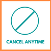 Cancel anytime!